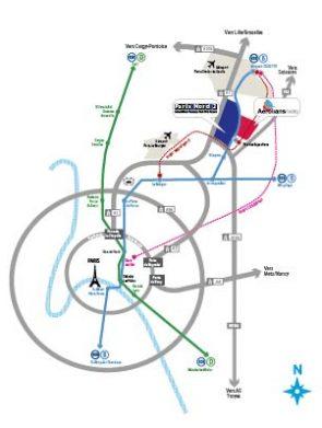 Plan accés